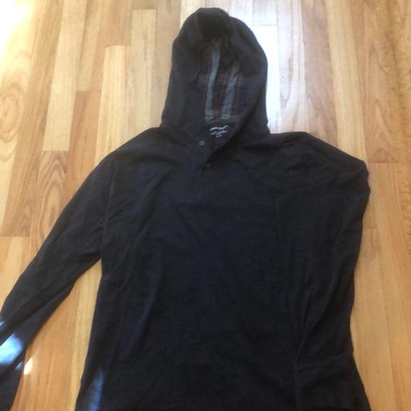Men's light weight hoodie.